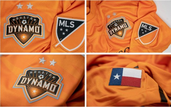 Houston Dynamo 2019 adidas Home Spccer Jersey, Shirt, Football Kit, Camiseta de Futbol MLS
