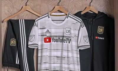 Los Angeles FC 2019 adidas Away Soccer Jersey, Football Kit, Shirt, Camiseta de Futbol MLS