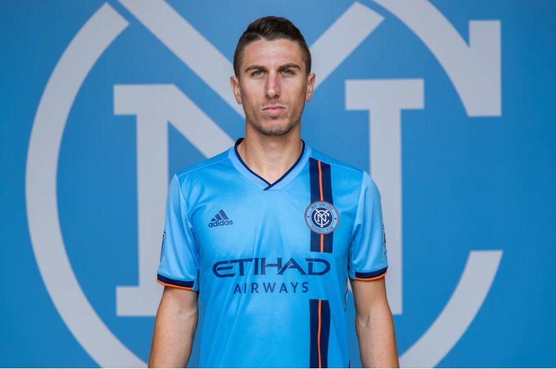 new product c54ff 76f6d New York City FC adidas 2019 Home Jersey - FOOTBALL FASHION.ORG