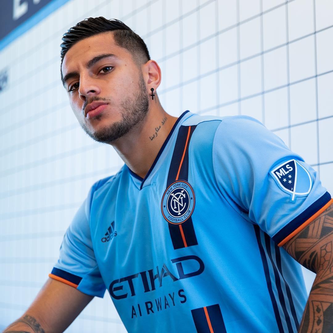 newest af873 19107 New York City FC adidas 2019 2020 Home Soccer Jersey, Football Kit, Shirt,