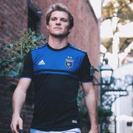 San Jose Earthquakes 2019 adidas Home Football Kit, Soccer Jersey, Shirt, Camiseta de Futbol MLS