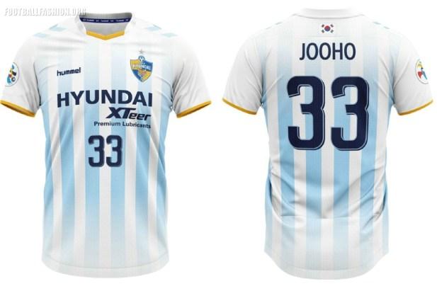 Ulsan Hyundai FC 2019 hummel Football Kit, Soccer Jersey, Shirt