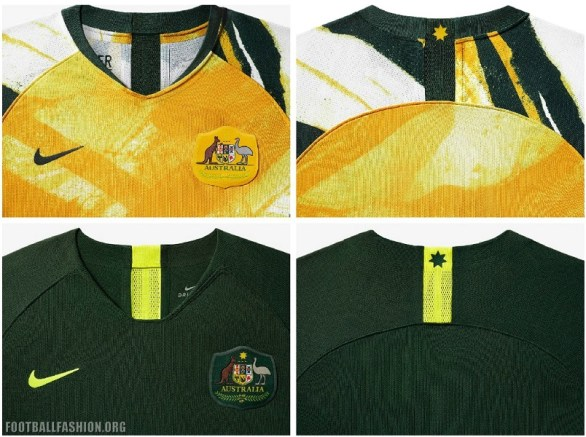 Australia 2019 Women's World Cup Nike Football Kit, Soccer Jersey, Shirt