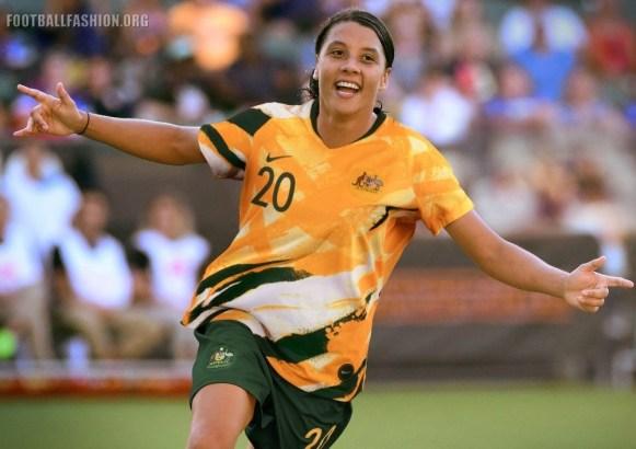 Australia 2019 Women's World Cup Nike Football Kit, Soccer Jersey, Shirt