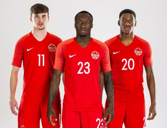 Canada 2019 Gold Cup 2020 Nike Home Football Kit, Soccer Jersey, Shirt, Maillot