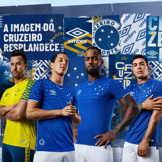 Cruzeiro 2019 Umbro Home Football Kit, Soccer Jersey, Shirt, Camisa, Camiseta