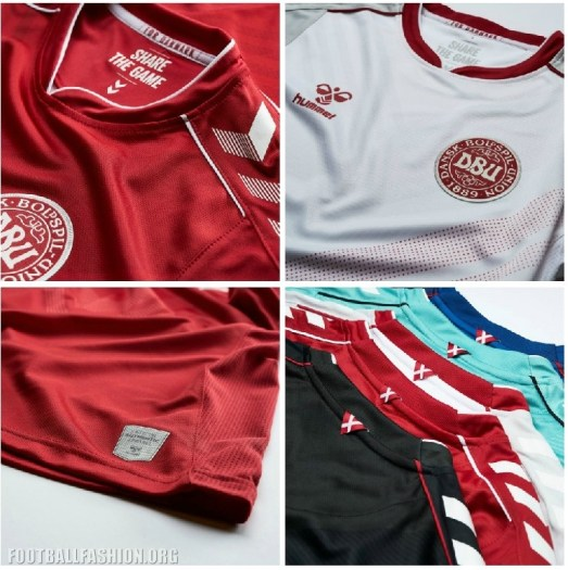 Denmark 2019 2020 Women's hummel Home and Away Football Kit, Soccer Jersey, Shirt, landsholdstrøje - hjemmebane, udebane