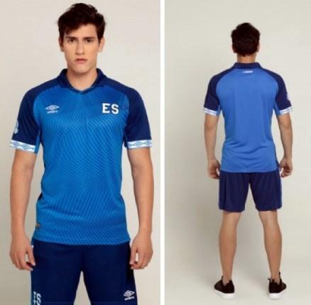 El Salvador 2019 2020 Umbro Home and Away Soccer Jersey, Shirt, Football Kit, Camiseta de Futbol, Equipacion