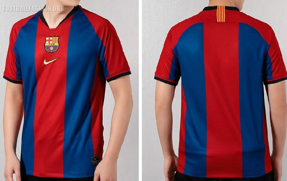 reputable site f20a3 63334 FC Barcelona 2019 El Clásico Nike Kit - FOOTBALL FASHION.ORG