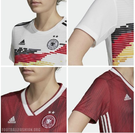 Germany 2019 Women's World Cup adidas Football Kit, Soccer Jersey, Shirt, Deutschland Heimtrikot Damen, Trikot