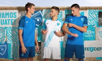 Guatemala 2019 Gold Cup 2020 Umbro Home and Away Football Kit, Soccer Jersey, Shirt, Camiseta de Futbol