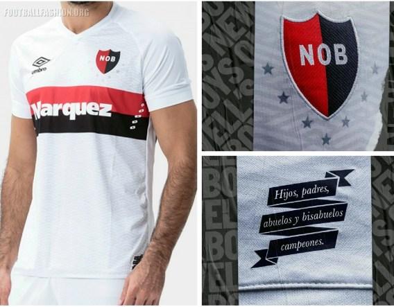 Newell's Old Boys 2019 Umbro Away Football Kit, Soccer Jersey, Shirt, Camiseta de Futbol