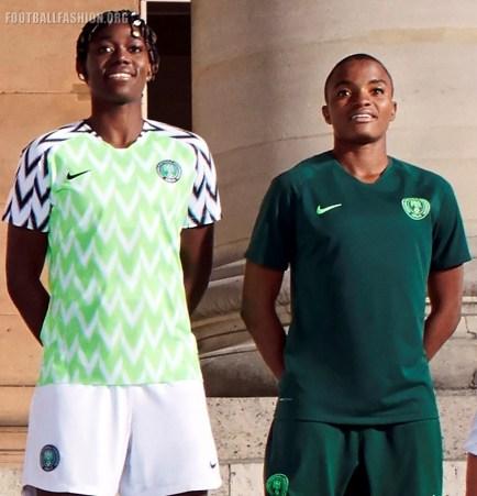 Nigeria 2019 Women's World Cup Nike Football Kit, Soccer Jersey, Shirt