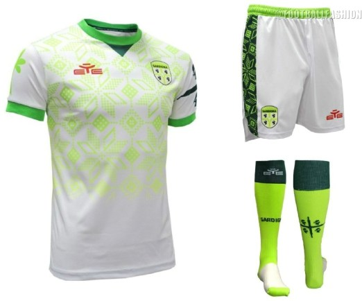 Sardinia 2019 2020 Home Football Kit, Soccer Jersey, Shirt, Gara, Maglia Sardigna