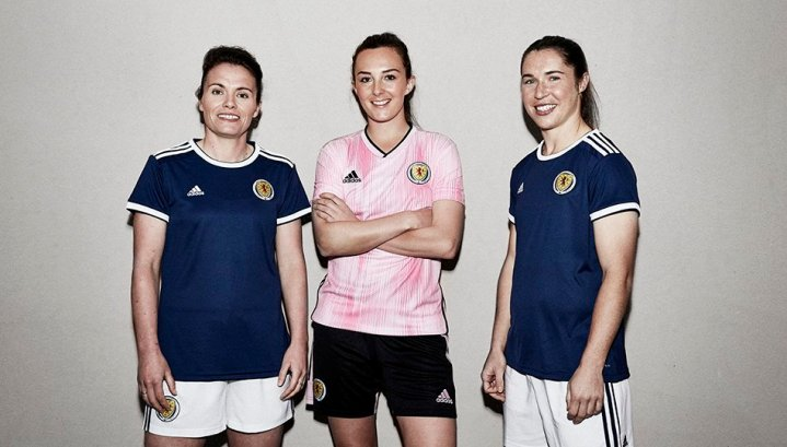 Scotland 2019 Women's World Cup adidas Football Kit, Soccer Jersey, Shirt