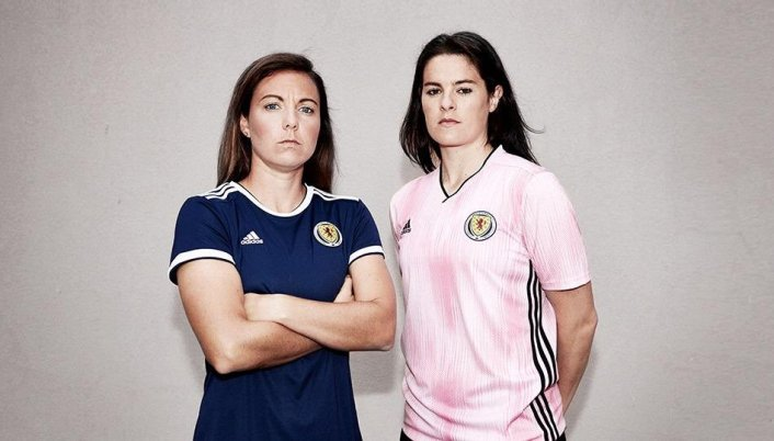 Scotland 2019 Women's World Cup adidas Football Kit, Soccer Jersey, Shirt