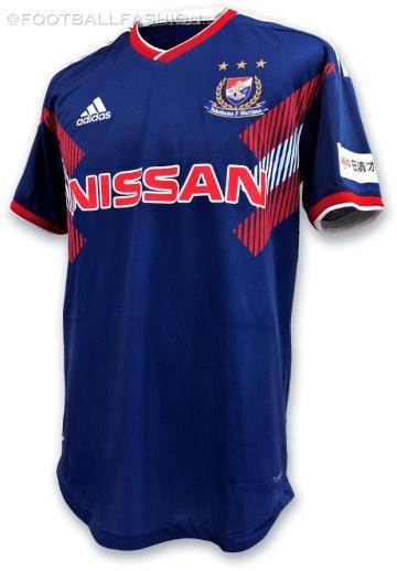 Yokohama F. Marinos 2019 adidas Special Edition Football Kit, Soccer Jersey, Shirt