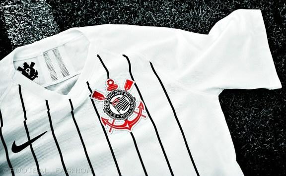Corinthians 2019 2020 Nike Home Ronaldo Football Kit, Soccer Jersey, Shirt, Camisa