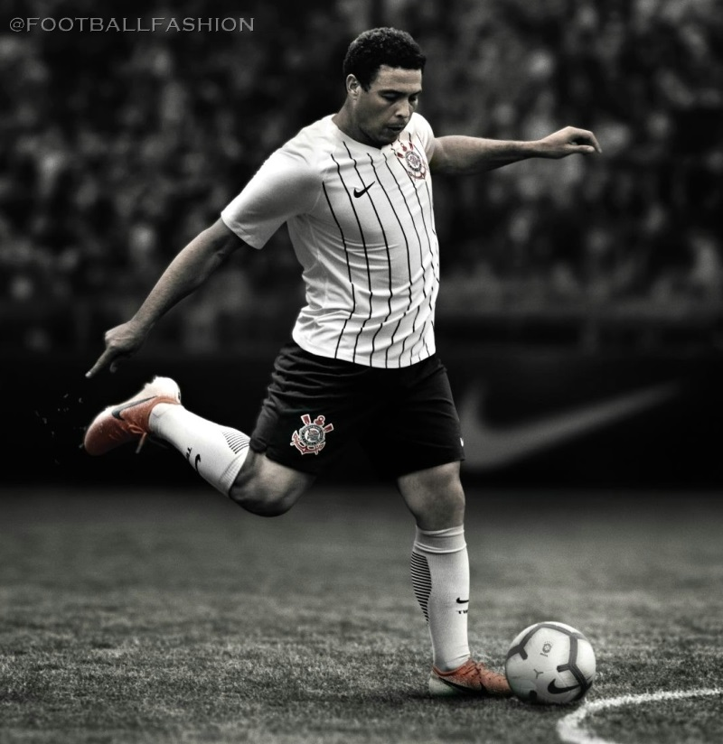 wholesale dealer 01f02 f341b Corinthians 2019/20 Nike Home Kit - FOOTBALL FASHION.ORG