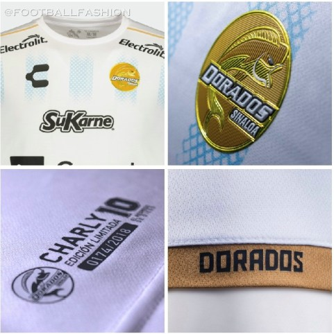 """Dorados de Sinaloa 2019 Maradona Soccer Jersey, Football Shirt, Kit, Camiseta de Futbol Edición Especial Alterno """"10"""""""