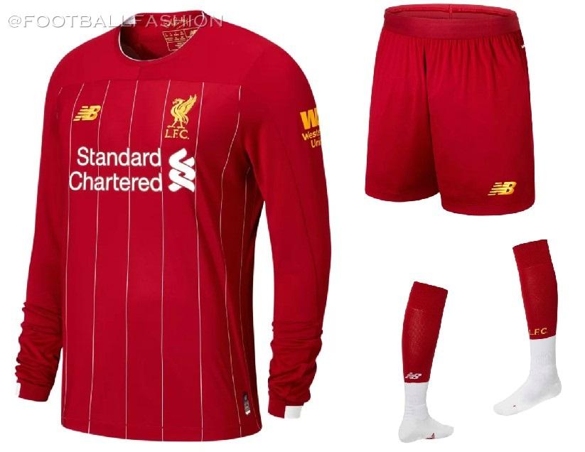 78f0e94b622 Liverpool FC 2019 20 New Balance Home Kit - FOOTBALL FASHION.ORG