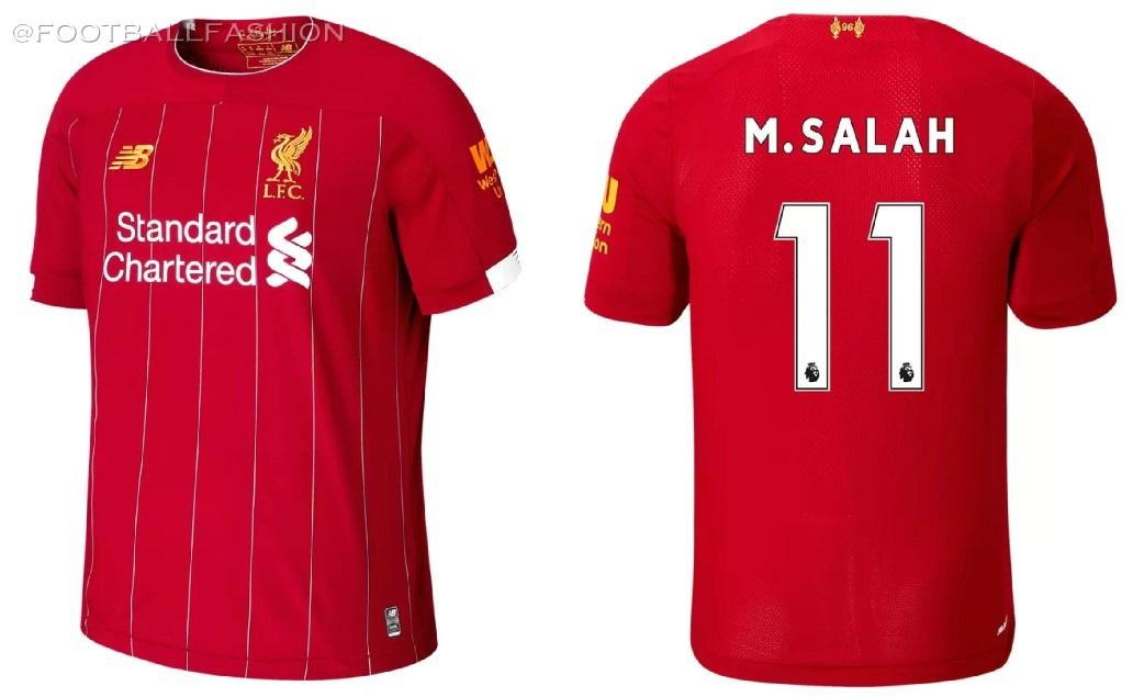 c76d011bf70 Liverpool FC 2019 20 New Balance Home Kit - Football Fashion