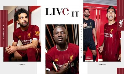 Liverpool FC 2019 2020 Red New Balance Home Football Kit, Soccer Jersey, Shirt, Camiseta, Camisa, Maillot, Trikot
