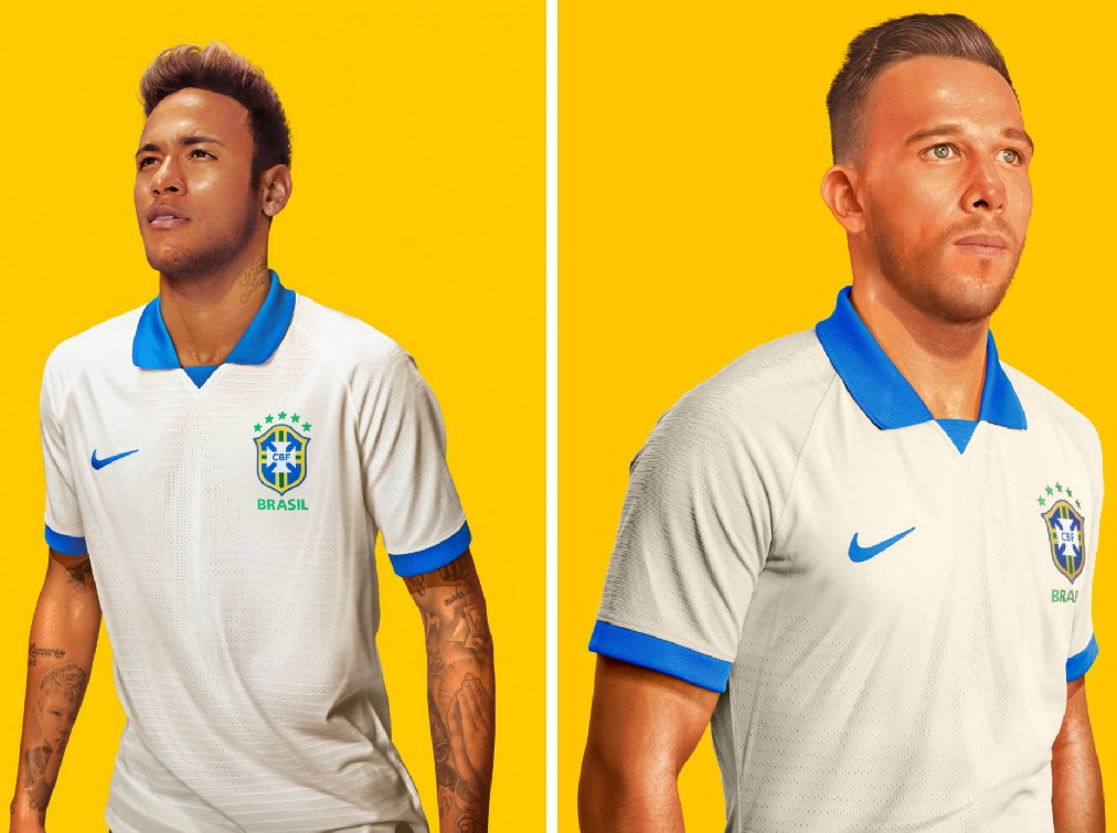 0af8c8a3230 Brazil 2019 Copa América Nike Kits - FOOTBALL FASHION.ORG