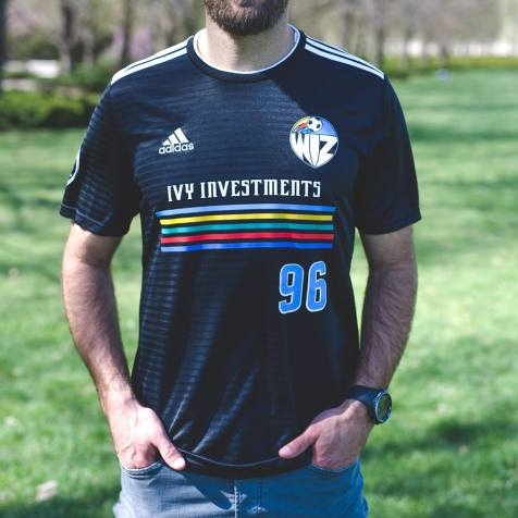 Sporting Kansas City 2019 adidas Retro Night Football Kit, Soccer Jersey, Shirt, Camiseta de Futbol