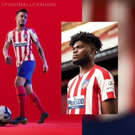 Atlético Madrid 2019 2020 Nike Home and Away Football Kit, Soccer Jersey, Shirt, Camiseta de Futbol, Equipacion, Maillot, Trikot