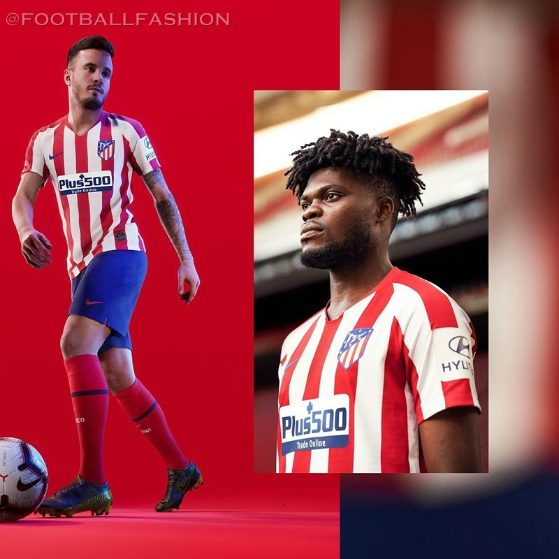 e5f742de1 Atlético Madrid 2019 2020 Nike Home and Away Football Kit, Soccer Jersey,  Shirt,