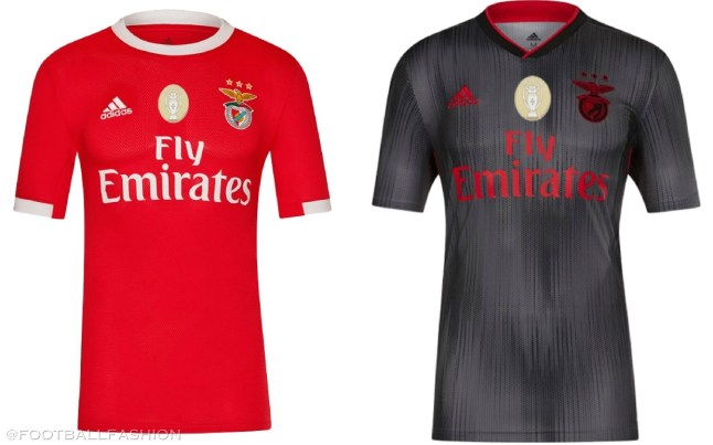 Benfica 2019 2020 adidas Home and Away Football Kit, Soccer Jersey, Shirt, Camisa, Camisola