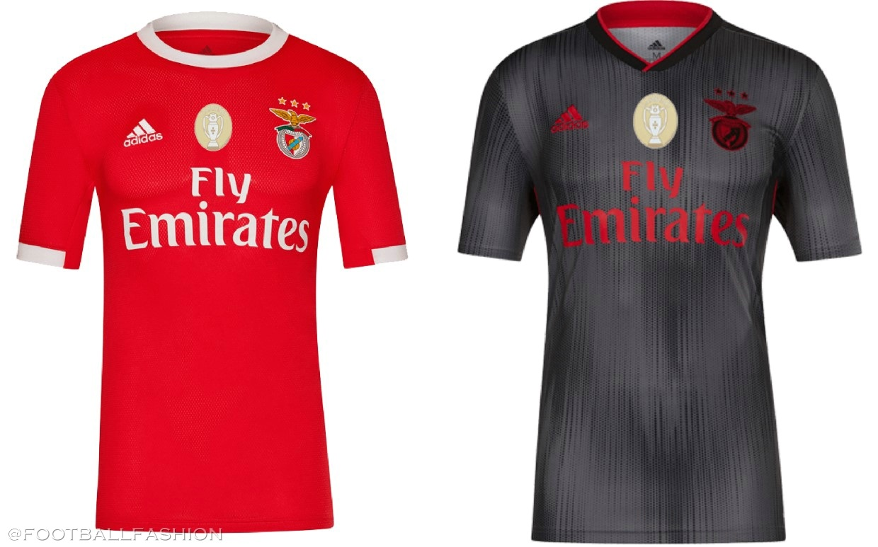 buy online ec050 b6d77 Benfica 2019/20 adidas Home and Away Kits - FOOTBALL FASHION.ORG