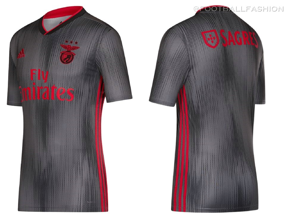buy online 473e4 b601a Benfica 2019/20 adidas Home and Away Kits - FOOTBALL FASHION.ORG