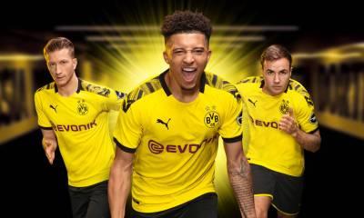 Borussia Dortmund 2019 2020 PUMA Home Football Kit, Soccer Jersey, Shirt, Trikot, Heimtrikot, Maillot, Camiseta, Camisa