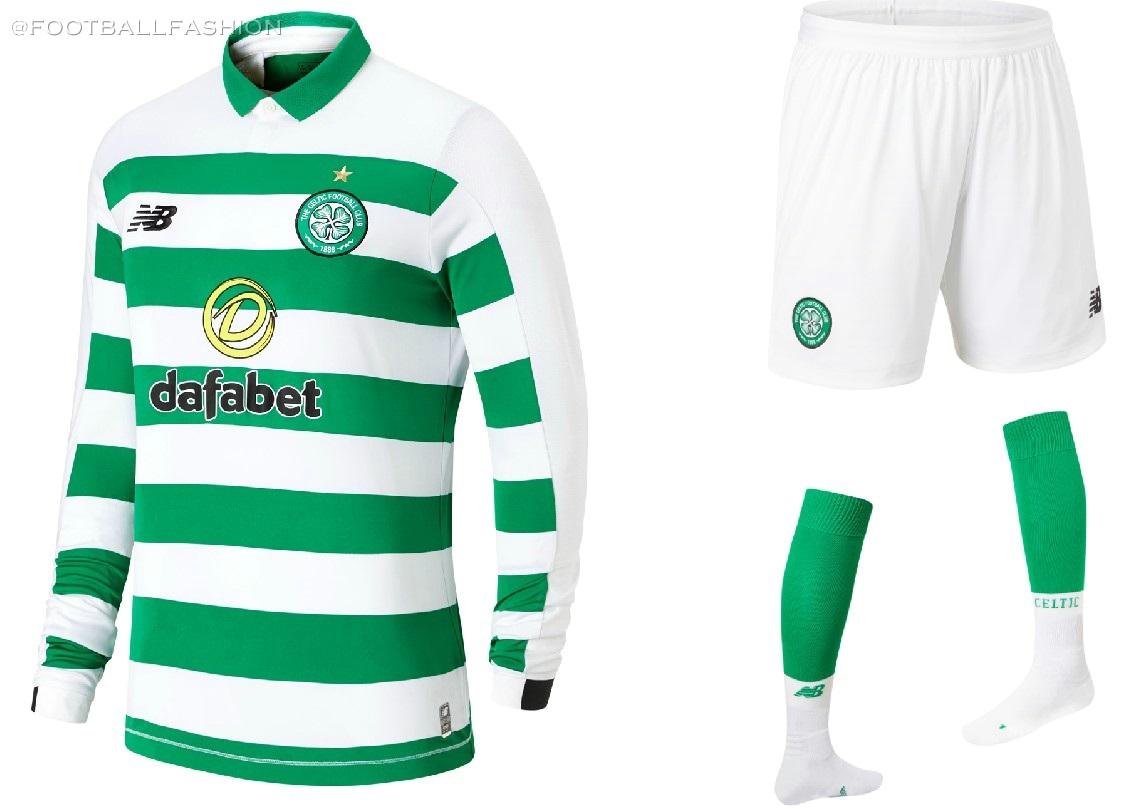 newest 2fe37 6936e Celtic FC 2019/20 New Balance Home Kit - FOOTBALL FASHION.ORG