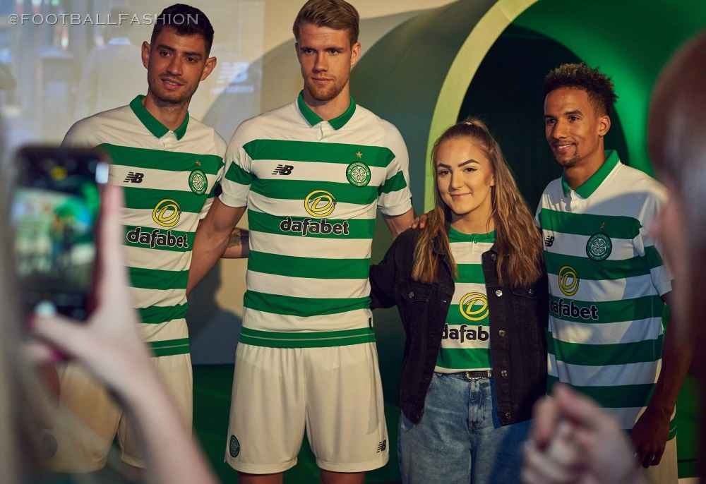 a8ddcf8a Celtic FC 2019 2020 New Balance Home Football Kit, Soccer Jersey, Shirt
