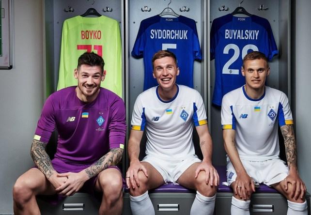 Dynamo Kyiv 2019 2020 New Balance Home and Away Football Kit, Soccer Jersey, Shirt