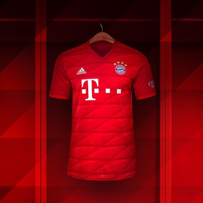new style b9337 149ba Bayern München 2019/20 adidas Home Kit - FOOTBALL FASHION.ORG