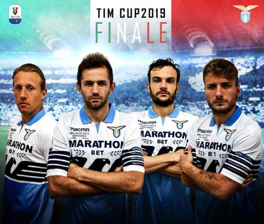 SS Lazio 2019 Coppa Italia Final Football Kit, Soccer Jersey, Shirt, Gara, Maglia