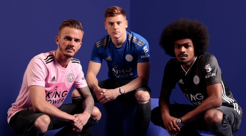 Leicester City 2019 2020 Away adidas Away Football Kit, Soccer Jersey, Shirt