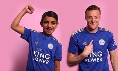 Leicester City 2019 2020 adidas Home Football Kit, Soccer Jersey, Shirt, Maillot, Camisa, Camiseta, Trikot, Dres