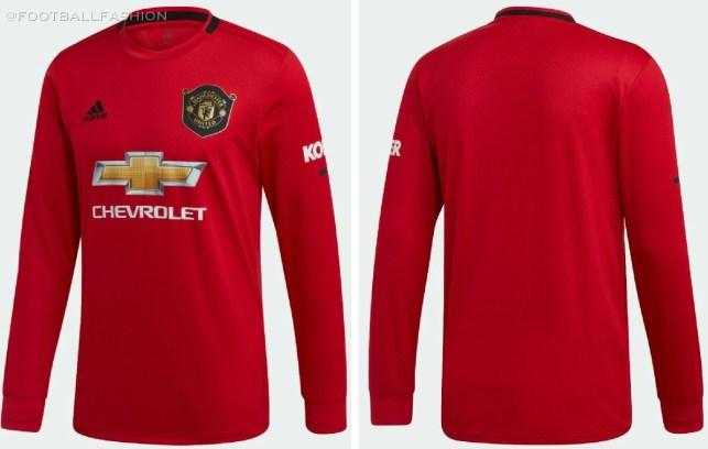 Manchester United 2019 2020 Red adidas Home Football Kit, Soccer Jersey, Shirt, Camiseta, Camisa, Maillot, Trikot