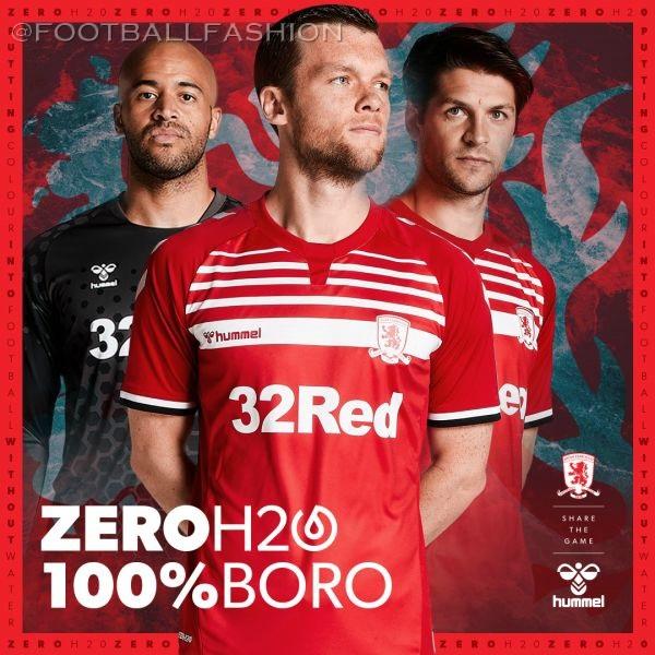 Middlesbrough FC Football Shirt Home Soccer Jersey 2019//20   Hummel Size XL