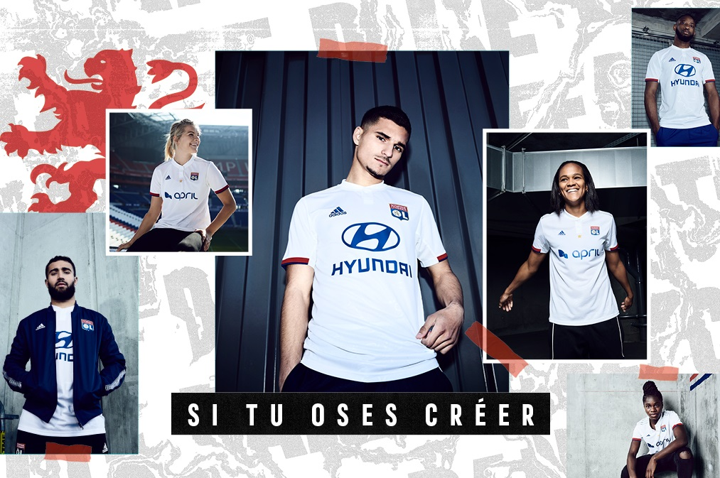 1e8d51f6a75 Olympique Lyon 2019 2020 adidas Third Kit, Soccer Jersey, Shirt, Maillot,  Tenue