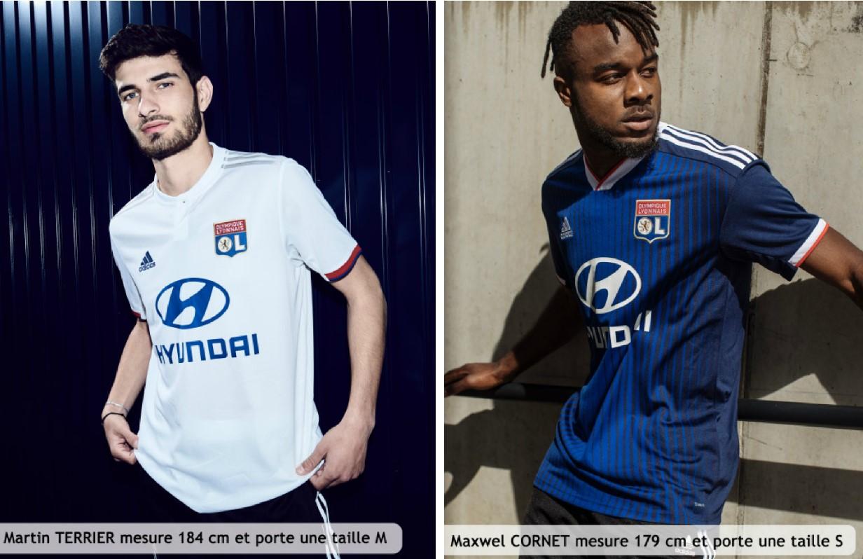 Olympique Lyon 2019/20 adidas Home and Away Kits - FOOTBALL ...