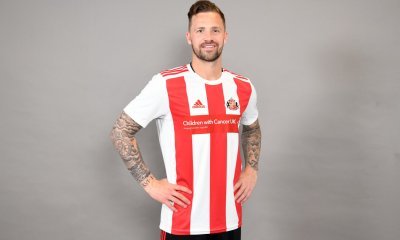 Sunderland 2019 2020 adidas Home Football Kit, Soccer Jersey, Shirt