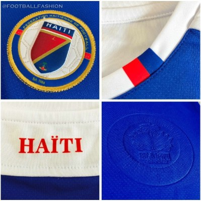 Haiti 2018 2019 Seata Home Soccer Jersey, Football Kit, Shirt, Maillot