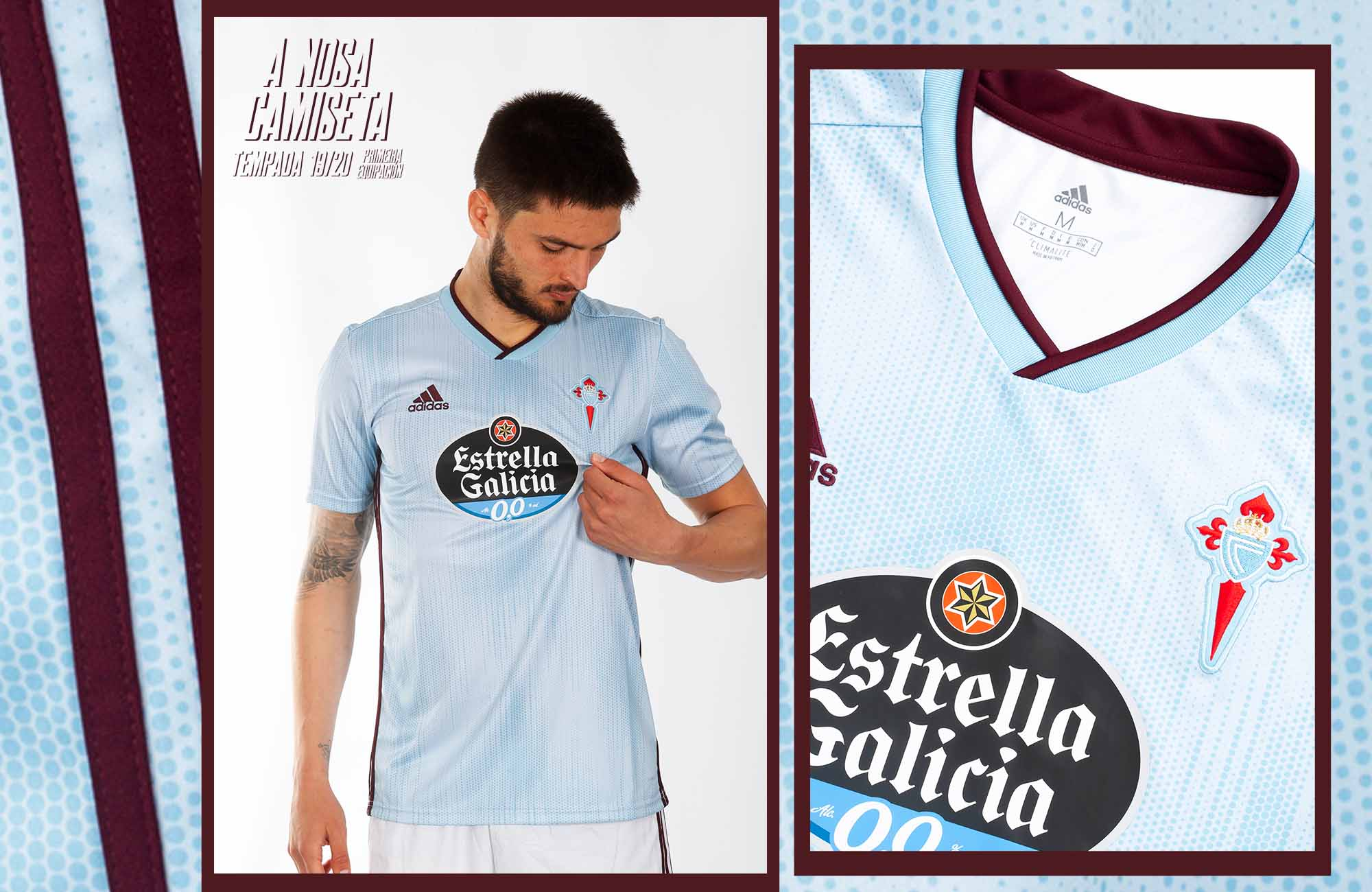 Celta de Vigo 201920 adidas Home Kit FOOTBALL FASHION.ORG