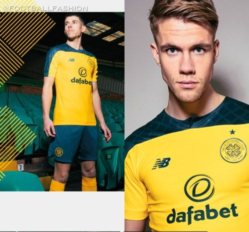 Celtic FC 2019 2020 New Balance Away Football Kit, Soccer Jersey, Shirt